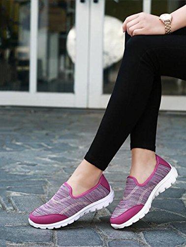 primavera con casual da agitare tela scarpe scarpe UN piatto da Scarpe estate donna leggero ginnastica traspirante SHINIK di da pigre scarpe donna 57wX06xq