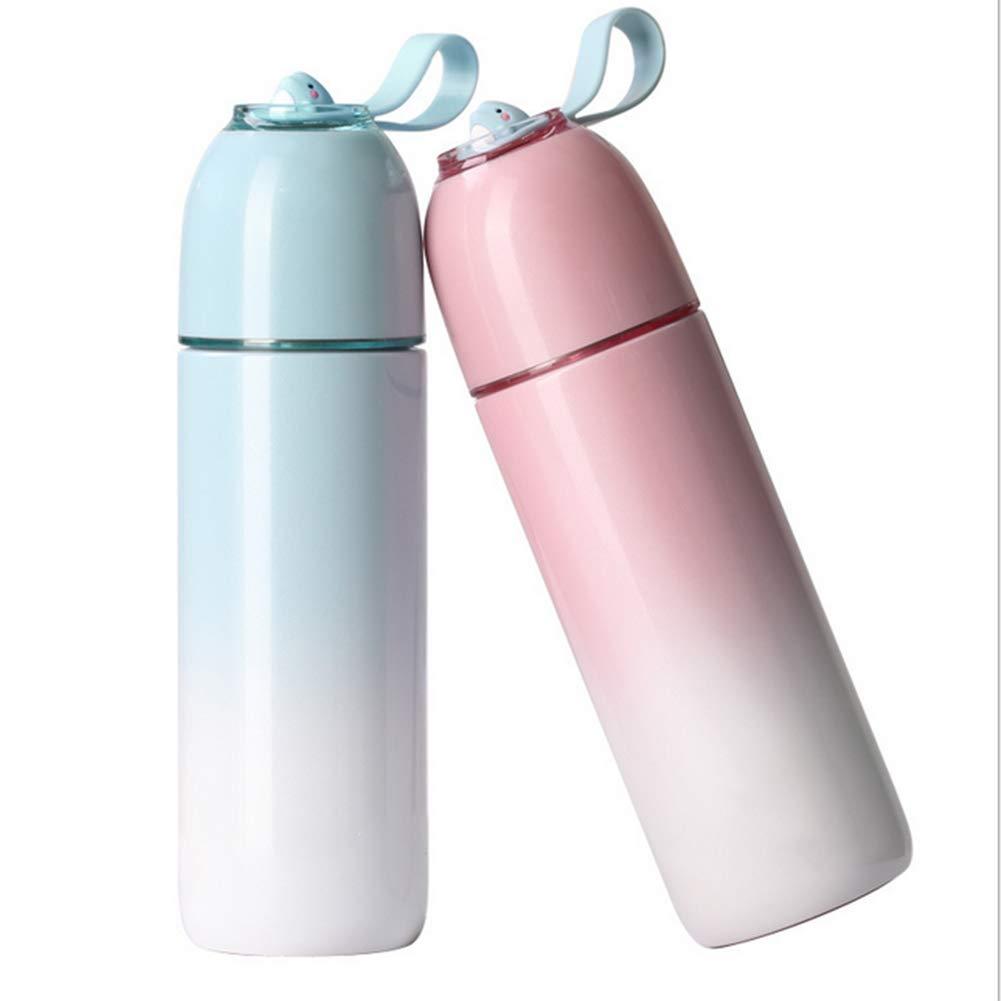 TZTED Vakuumisolierte Edelstahl Doppelte Wand Wasserflasche Cup Frei Von BPA Für Das Laufen Fitness Yoga Im Freien Und Camping
