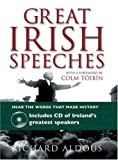 Great Irish Speeches Book and CD, Richard Aldous, 1847246583