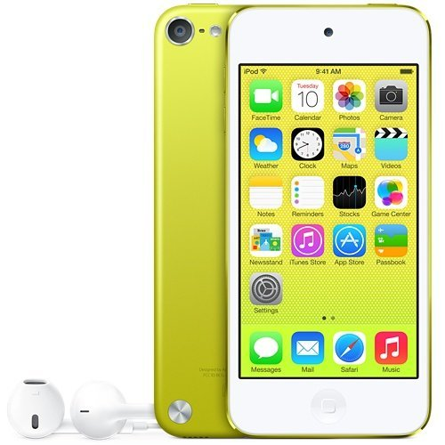 Apple iPod Touch 32GB (5th Generation) - Yellow (Certified Refurbished) (Yellow Ipod Touch)