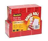 Scotch Book Tape Value Pack 845-VP