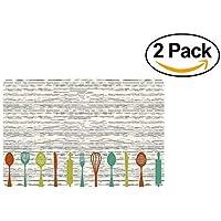 18 x 27 PVC foam Gadget Kitchen Mat/Rug - 2 pack