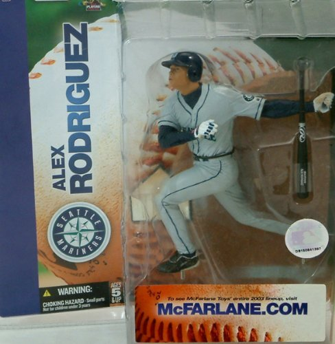 - Mcfarlane MLB Seattle Mariners Alex Rodriguez Action Figure Series 6