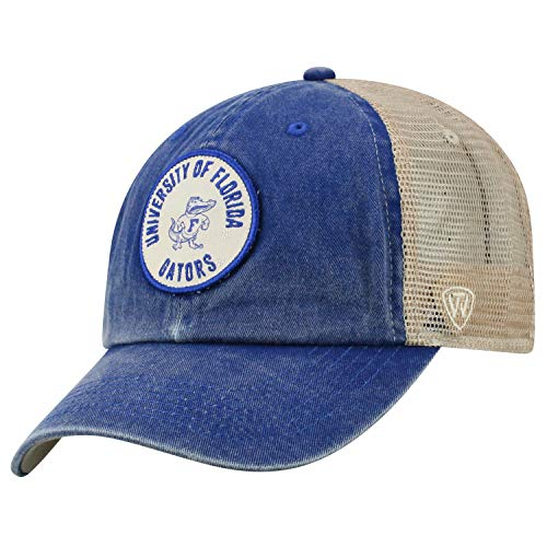 (Top of the World Florida Gators Official NCAA Adjustable Keepsake Soft Mesh Cotton Hat Cap 428536)
