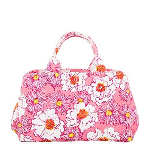 Prada Women's Floral Print Tote - Floral Prada Bag