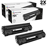LD Remanufactured Toner Cartridge Replacement for HP CE278A  ( Black , 2 pk )