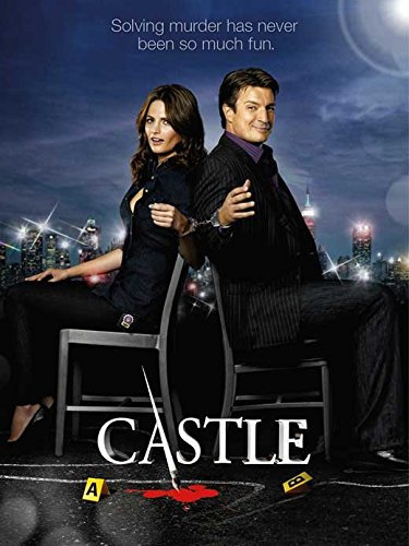 Castle Poster TV C Susan Sullivan Stana Katic Molly C. Quinn Nathan Fillion
