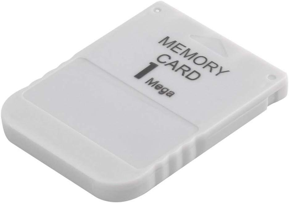 PS1-Speicherkarte 1 Mega-Speicherkarte f/ür Playstation 1 EIN PS1-PSX-Spiel N/ützlich Praktisch Erschwinglich Wei/ß 1M 1MB /♥ MarinoCOW