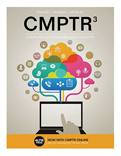 Price comparison product image CMPTR (with CMPTR Online, 1 term (6 months) Printed Access Card) (New, Engaging Titles from 4LTR Press)