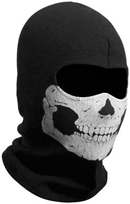 Amazon Com Zzoo Cotton Ghost Mask Skull Heads Warm Scarf Outdoor