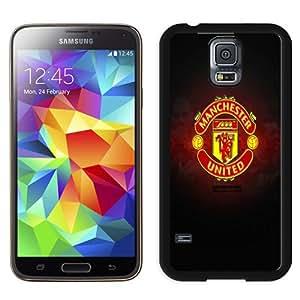 Unique And Lovely Designed Case For Samsung Galaxy S5 I9600 G900a G900v G900p G900t G900w With Manchester United Logo Samsung Galaxy S5 I9600 G900a G900v G900p G900t G900w Wallpaper Black Phone Case