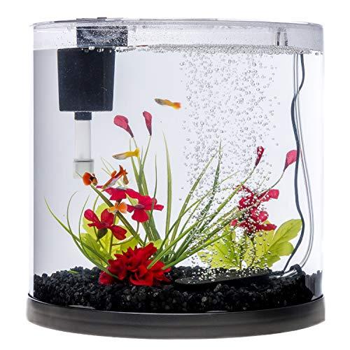Tetra ColorFusion LED Half Moon Aquarium Kit, 3 Gallons