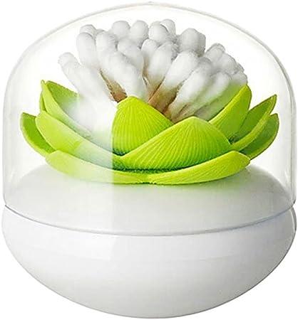 Exquisito Lotus Algodón Torunda de algodón Bud Holder palillo de ...