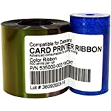 535000-003 Color Ribbon Kit For Datacard CP40 CP60 CP80 Card Printer, YMCKT 500 Images