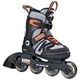 K2 Skate Raider, Black Orange, 4-8