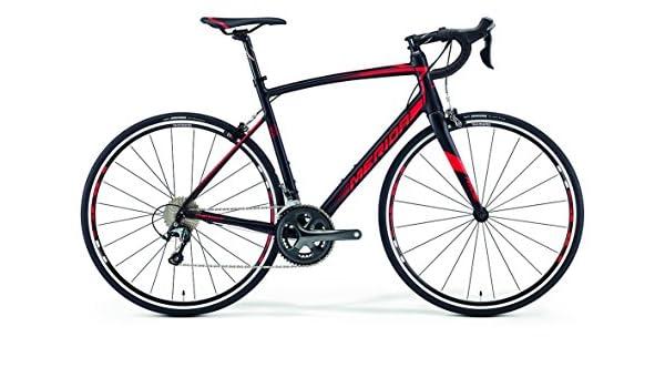 Merida Ride 300 28 pulgadas bicicleta negro/rojo (2016), tamaño 56: Amazon.es: Deportes y aire libre