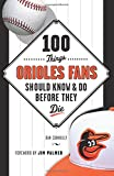img - for 100 Things Orioles Fans Should Know & Do Before They Die (100 Things...Fans Should Know) book / textbook / text book