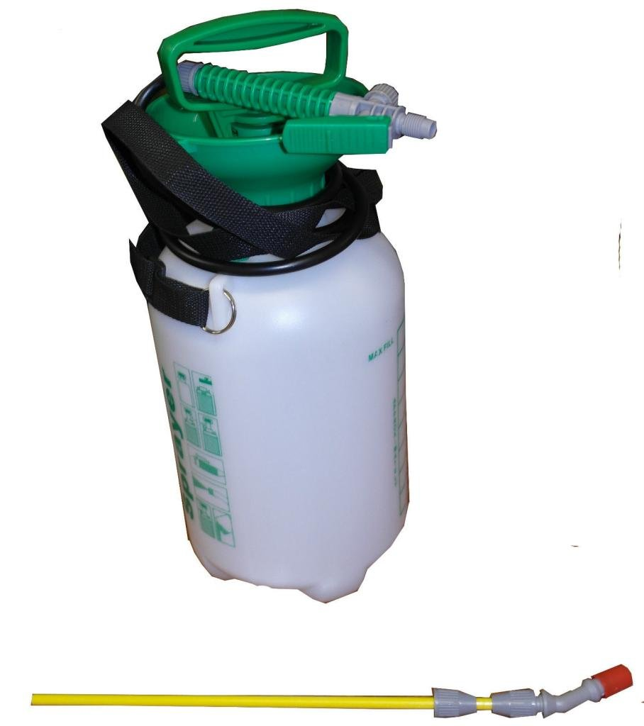 Weed Killer 5L Litre Alloy Wheel Cleaner Pressure Sprayer Knap Sack 1.3M Hose Wheels N Bits