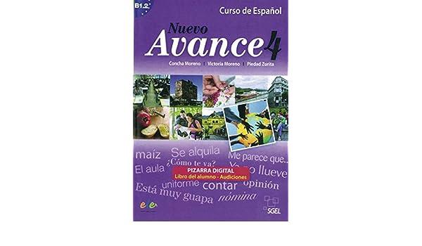 Nuevo Avance 04. Curso de Español. Pizarra digital ...