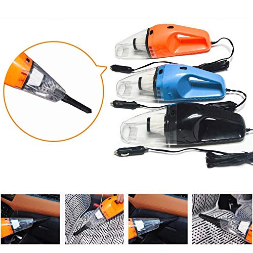 Detailorpin 120W Big Power Wet and Dry Car Vacuum Cleaner