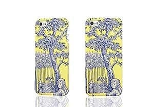 a rural scene 3D Rough iphone 5 5S Case Skin, fashion design image custom iPhone 5 5s , durable iphone 5 5S hard 3D case cover for iphone 5 5S, Case New Design By Codystore