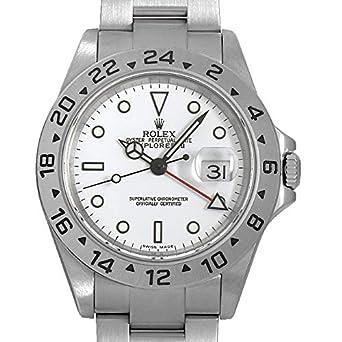 best authentic 8bcd8 89d09 Amazon | ロレックス エクスプローラーII 16570 ホワイト Y番 ...