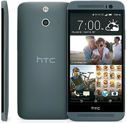 HTC One E8 16GB 3G - DUAL SIM UNLOCKED FACTORY COLOR (GREY) - International Version No Warranty