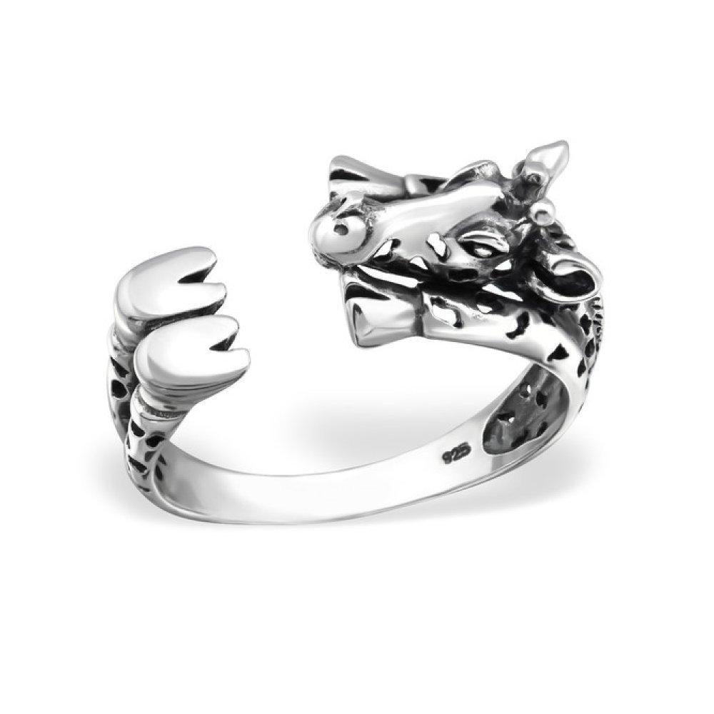 Sterling Silver Giraffe Ring