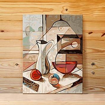 Superluckty Práctica de Pintura Europea Tarro de luz Mesa de ...