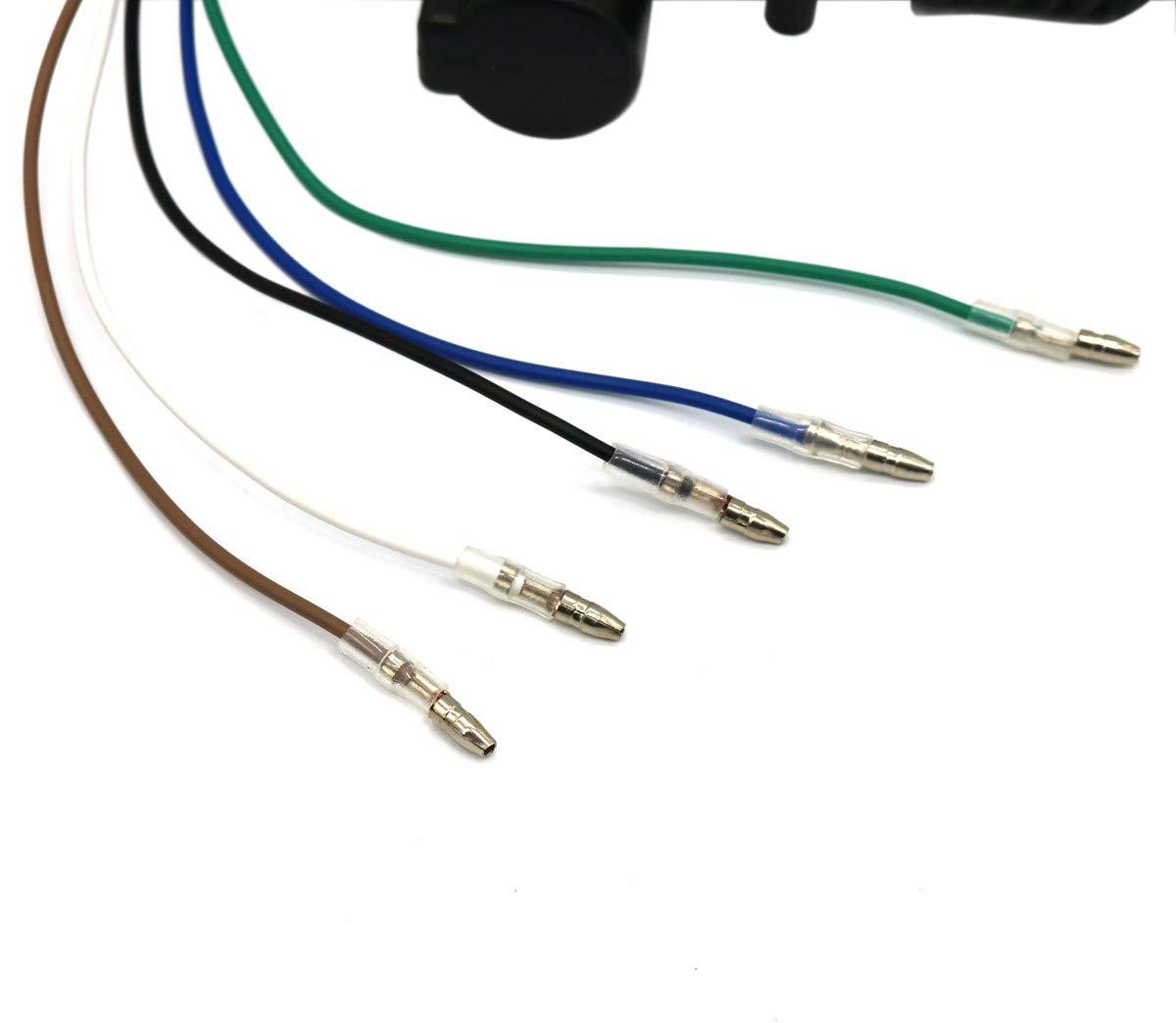 Carviya 2 Unidades de 5 Cables universales de 12 V CC para el Coche