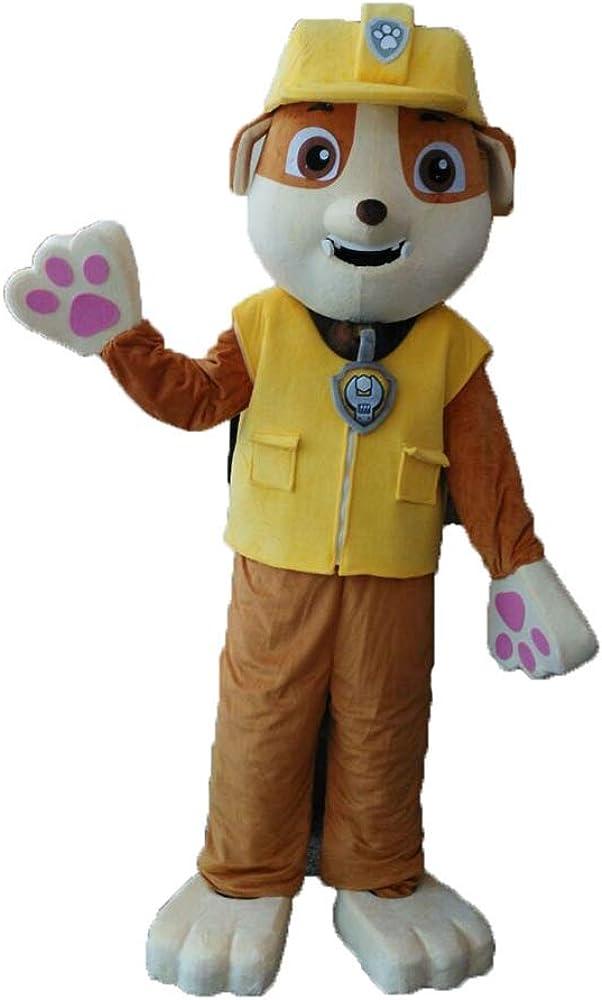 Amazon.com: Tamaño adulto Paw Patrol Escombros traje disfraz ...