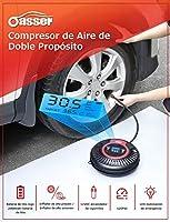 oasser Compresor de Aire Multipropósito Portátiles Inflador sin ...
