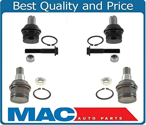 Upper & Lower Ball Joints fits for Ford Excursion F250 F350 Super Duty Rear Wheel Drive & Twin I Beam Suspension