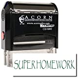 MaxStamp - Self-Inking Super Homework Stamp (Red Ink)