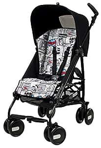 Peg-Pérego Poussette Canne- Silla de paseo para bebés, color negro (Pliko Mini)