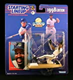: 1998 Edition - Kenner - Starting Lineup - Extended Series - Fred McGriff #27 - Tampa Bay Devil Rays - Vintage Action Figure - w/ Trading Card - Limited Edition - Collectible