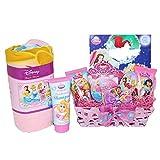 SKash26ani Baskets for Girls Disney Princess Theme Sleep Over Gift Basket