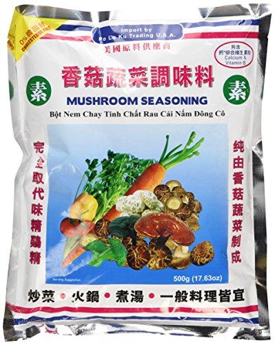 Natural Seasoning (MUSHROOM SEASONING NATURAL GRANULE 17.63OZ (500g) by Po Lo Ku Trading)