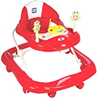 Mee Mee Simple Steps Baby Walker (Red)