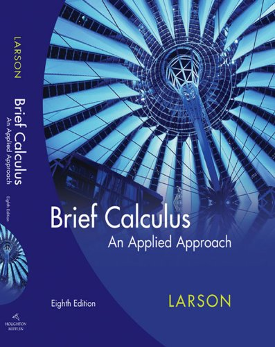 Download Brief Calculus: An Applied Approach: Student Text Pdf