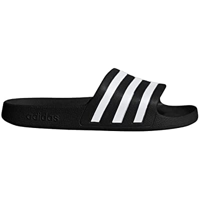 Amazon.com | adidas Women's Adilette Aqua Slide Sandal | Slippers