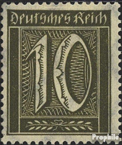 Prophila Collection Deutsches Reich 178 geprüft 1921 Ziffernzeichnung (Briefmarken für Sammler)