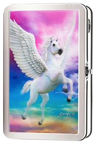 Find-It 3D Metal Supply Box, 8.3'' x 2.5'' x 5.2'', Pegasus (FT07492) by Find It