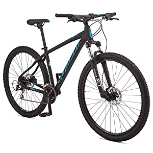 Schwinn Moab 3 Adult Mountain Bike, Aluminum Frame, 24 Speeds, 29-Inch Wheels, Hydraulic Disc Brakes, Black