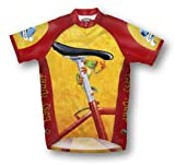 Primal Wear Easy Rider Frog Cycling Jersey Men's XL Short Sleeve