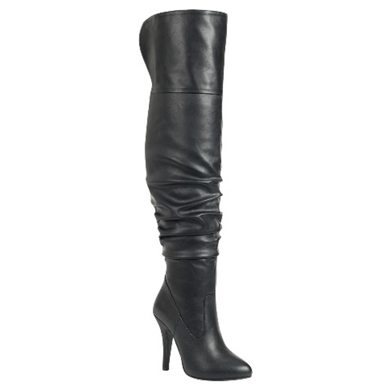 d53e797dd3dc9 Amazon.com | Forever Link Womens Focus-33 Vegan Leather Over The Knee  Fashion Boots | Shoes