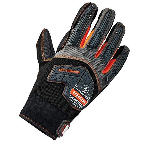 Ergodyne ProFlex 9015F(x) Anti-Vibration Work Gloves, Certified, Large, Black by Ergodyne (Image #1)