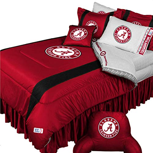 NCAA Alabama Crimson Tide - 5pc BED IN A BAG - Queen Bedding Set