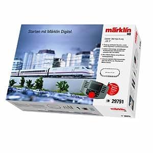 Märklin 29791 - Juego de tren eléctrico digital con réplica de ICE 2 [importado de Alemania]