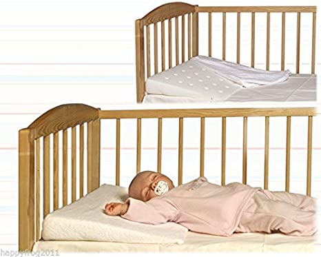Baby Pillow Cot Wedge for reflux and congestion BIG 60x36 cm Womar 120454